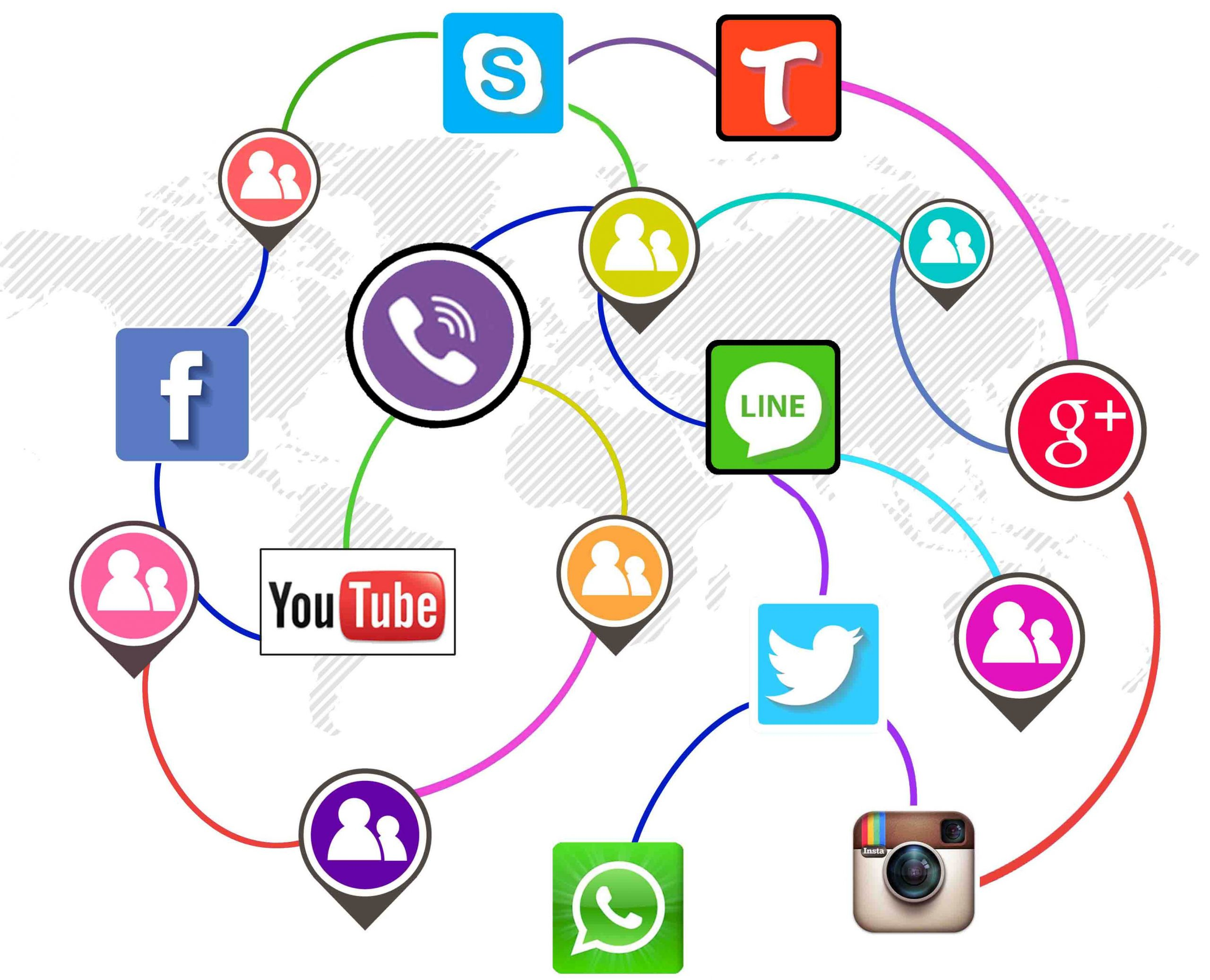 مزایای شبکه های مجازی